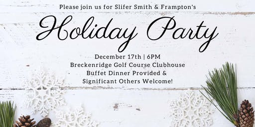 SSF Holiday Party 2019