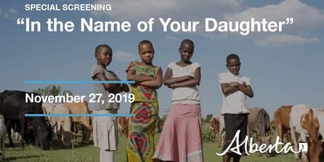 """""""In the Name of Your Daughter"""" tickets"""