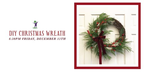 DIY Christmas Wreath Class tickets