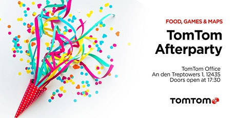 TomTom TechCrunch Berlin Afterparty tickets