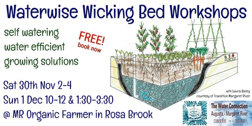 Waterwise Wicking Bed Workshop 1