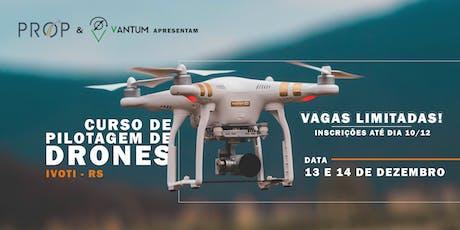 Curso de Pilotagem de Drones - Ivoti RS ingressos