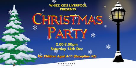 Whizz Kids Christmas Party 2019 tickets