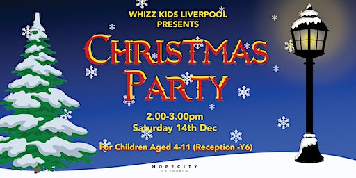 Whizz Kids Christmas Party 2019