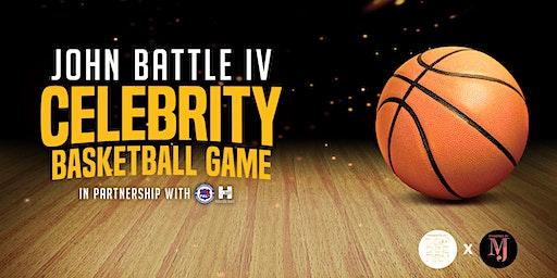 John Battle IV Celebrity Basketball Game