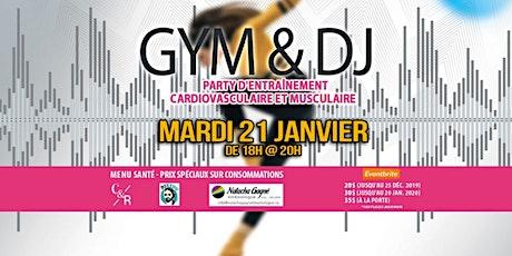 GYM et DJ billets