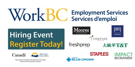 Vancouver North East WorkBC - Job Fair tickets