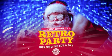 Retro party-Christmas edition tickets