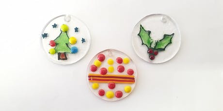 Glass Fusing Christmas Tree Decoration Workshop tickets