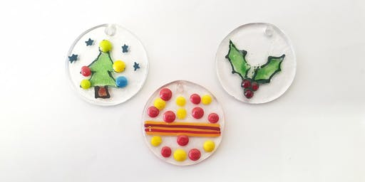 Glass Fusing Christmas Tree Decoration Workshop