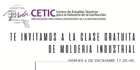 CLASE DE MOLDERIA INDUSTRIAL Y REALIZACION DE TALLES entradas