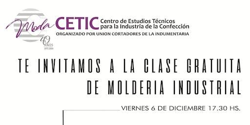 CLASE DE MOLDERIA INDUSTRIAL Y REALIZACION DE TALLES