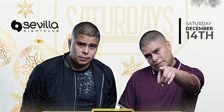 SATURDAY NIGHT with DUO DJ TWIINZ  at SEVILLA San Diego tickets