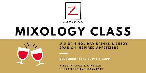 Holiday Mixology Class