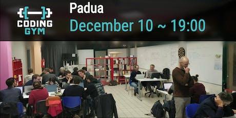 Coding Gym di Natale 2019 - Programmers in Padua biglietti
