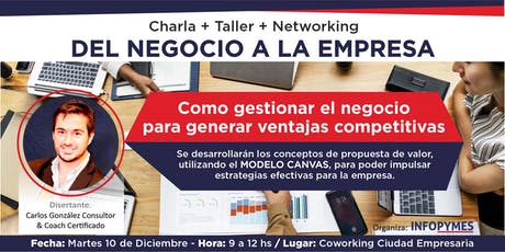 """MODELO CANVAS"" para comerciantes, empresarios y emprendedores entradas"