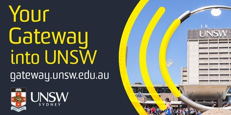 UNSW Gateway Entry Scheme - Info Day Morning Tea tickets