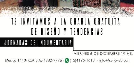 CHARLA DE DISEÑO Y TENDENCIAS entradas