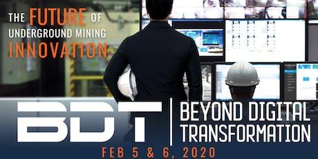 Beyond Digital Transformation 2020 tickets
