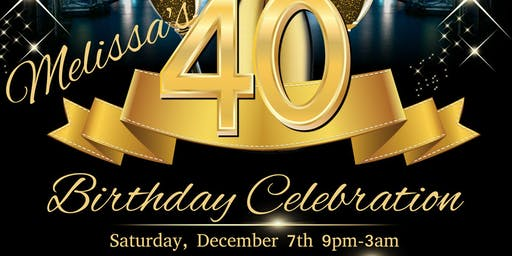BKS FADE Social - Melissa's 40th Birthday Celebration