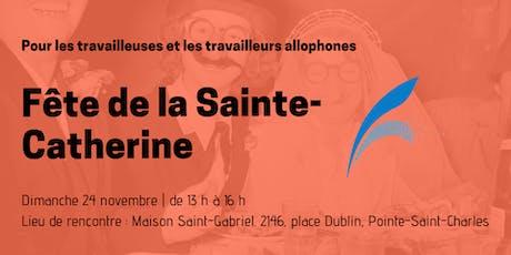 Fête de la Sainte-Catherine tickets