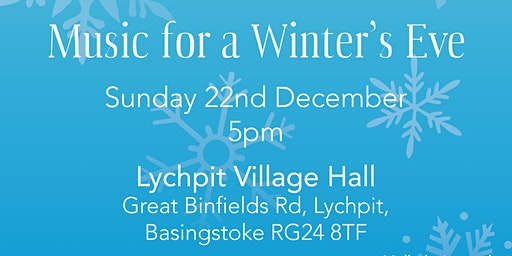 Music for a Winter's Eve in aid of Alzheimer's Soc