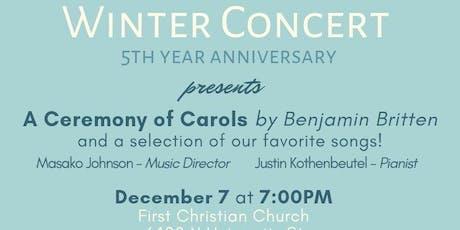 Peoria International Choir Winter 2019 Concert tickets