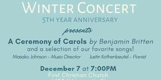 Peoria International Choir Winter 2019 Concert