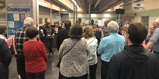 Buffalo News Building and Press Tour - Subscriber EXTRA!