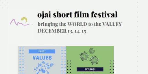 2nd Annual Ojai Short Film Fest, 2019