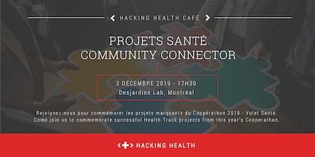 Projets Santé 2019 - Community Connector billets