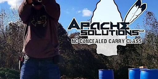 NC Concealed Carry Handgun Class