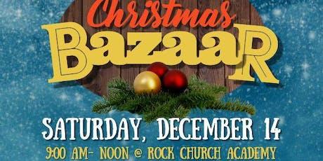 Rock Church Academy: Children's Christmas Bazaar tickets