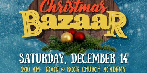 Rock Church Academy: Children's Christmas Bazaar