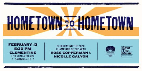 HOMETOWN TO HOMETOWN tickets