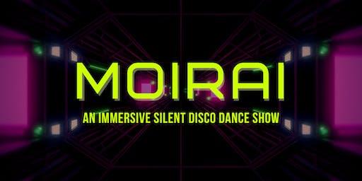 MOIRAI: An Immersive Silent Disco Dance Show