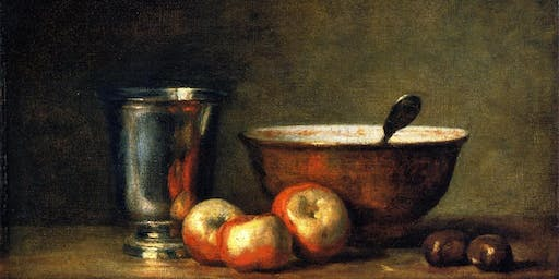 Learn to Paint Like the Masters: Jean Chardin Bowl & Silver Goblet