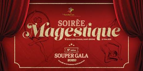 Soirée de gala Majestique tickets