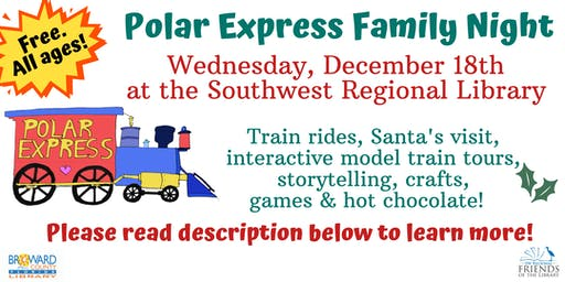Polar Express Family Night (Please read description below)