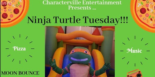 """""""NINJA TURTLE TUESDAY""""     Hosted By: Characterville"""