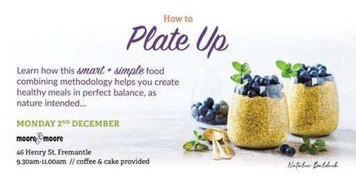 How to Plate Up with Natalie Baldock