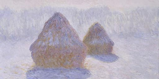 Learn to Paint Like the Masters: Claude Monet's Haystacks in the Snow