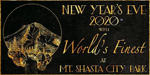 World's Finest NYE Celebration @ Mt. Shasta City Park (Mt. Shasta, CA)
