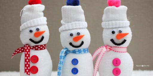 Kids Holiday Crafts Night; Build a Sock Snowman