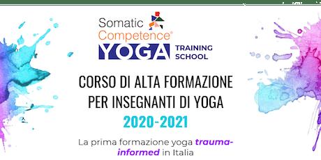 Presentazione del Corso di Alta Formazione in Somatic Competence Yoga biglietti