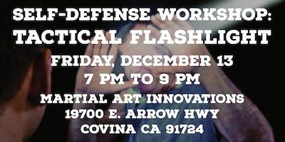 Self Defense Workshop: Tactical Flashlight