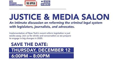 Justice & Media Salon tickets