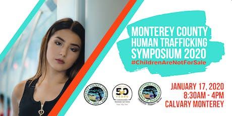 Monterey County Human Trafficking Symposium 2020 tickets