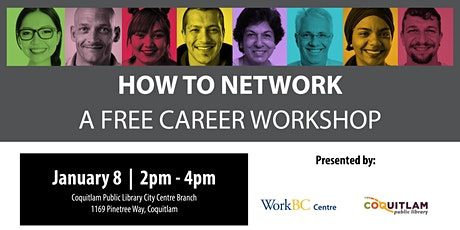 How to Network: A Free Career Workshop (Coquitlam) tickets