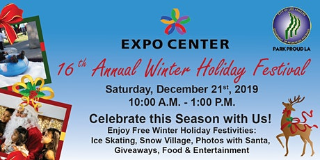 EXPO Center's 16th Annual Winter Holiday Festival tickets